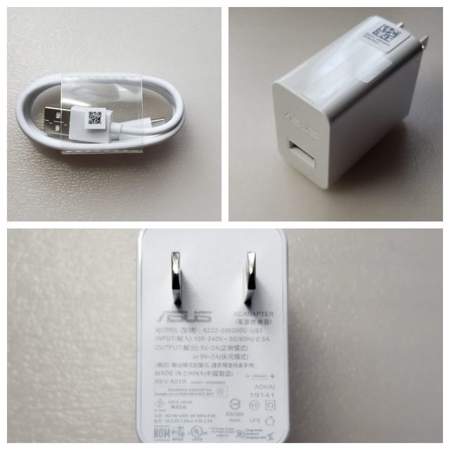 zenfone6の純正AC急速アダプターはメーカーしか販売していませんか? 充電できないので純正ACアダプターを購入したいのですが、とこで購入できますか? 純正ACアダプターじゃなくても規格が同じACアダプターはありますか? よろしくお願いします。 出力は5V-2A(通常時) / 9V-2A(急速時) Zenfone6(ZS630KL)はQC4.0(Quick Charge4.0)に準拠...
