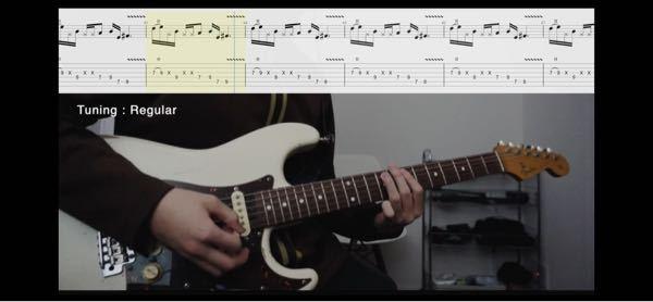 アコギ一年、エレキギター 初心者です。 下記のようなタブ譜の場合、他の5弦は余弦ミュートしないとノイズ入りまくりになりますよね? じゃぁ、例えばCコードとかでも他の弦はミュートしないといけないのですか? アコギ弾ければエレキもいけるなんて聞きましたが、ミュートで、まずつまずいてます。教えてください