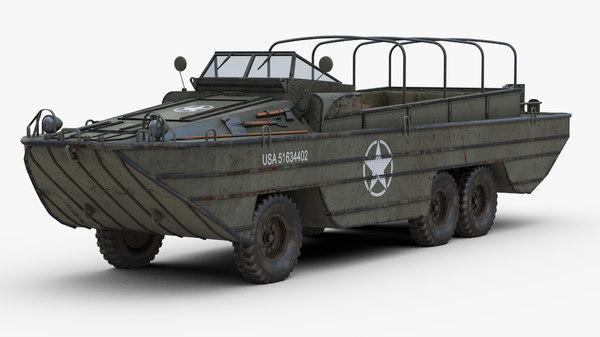 なぜアメリカはWW2で水陸両用車を量産できたんですか?