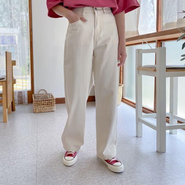 低身長×骨ストにこのパンツはいけますか??