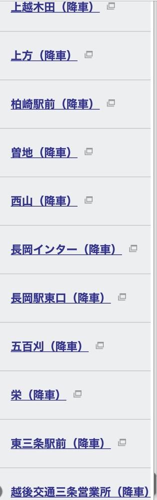 この中で一番新潟駅まで行きやすい所はどこでしょうか?