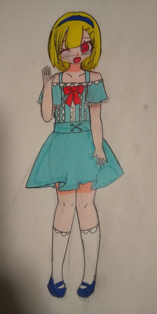 小学6年生です。将来の夢はイラストレーターです。イラスト評価してください。アドバイスもお願いします。