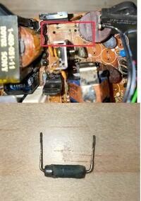 電子部品に詳しい方に質問です。 写真の抵抗器は何の種類の抵抗器でしょうか? 本体には10ΩJと印字されております。