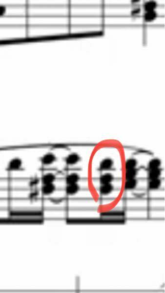 音符についてです 赤丸で印をつけている部分はレをシャープにする必要ありますか?