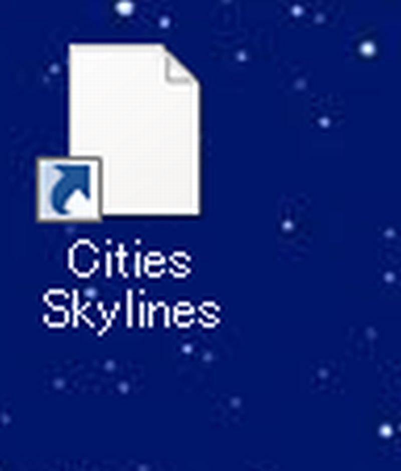 デスクトップにエピックゲームズからのCities:Skylinesの ショートカットを置くとこのように画像が表示されません。 他のゲームは表示されるのですが・・・。 原因と改善の方法を教えて下さい。 アンインストールしても同じように表示されません。