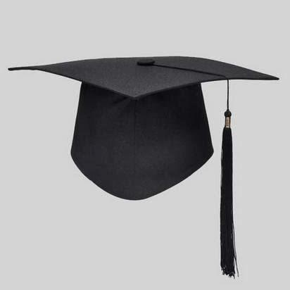 この帽子は大学生が卒業式にかぶるものなのですか?