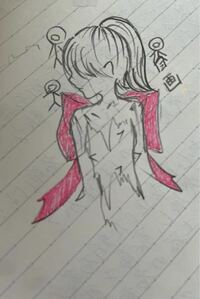 統合失調症の姉が描いた絵を見つけてしまいました…。これはどのような深層心理が隠されているのでしょうか、?