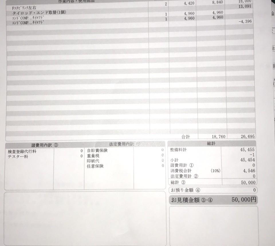 こんばんは。 修理費用の事についてご質問なのですが、こちらの見積書に記載されている価格は妥当なのでしょうか? ちなみに、町工場です。 相場がいまいちわからなかったのでよろしくお願いいたします。
