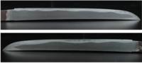 この刀の刃紋を見て、ご感想を聞かせて下さい。  添付画像の刃文を見てご感想をお聞かせ下さい。 画像をクリックすると拡大表示します。