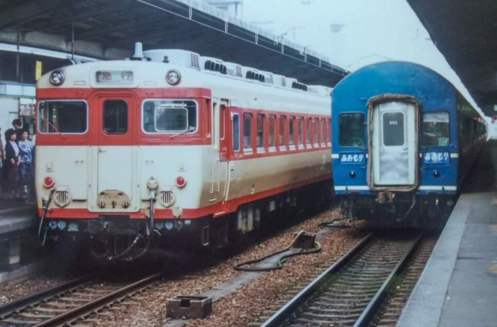 右の20系らしき列車は何でしょうか? 大阪駅だそうです