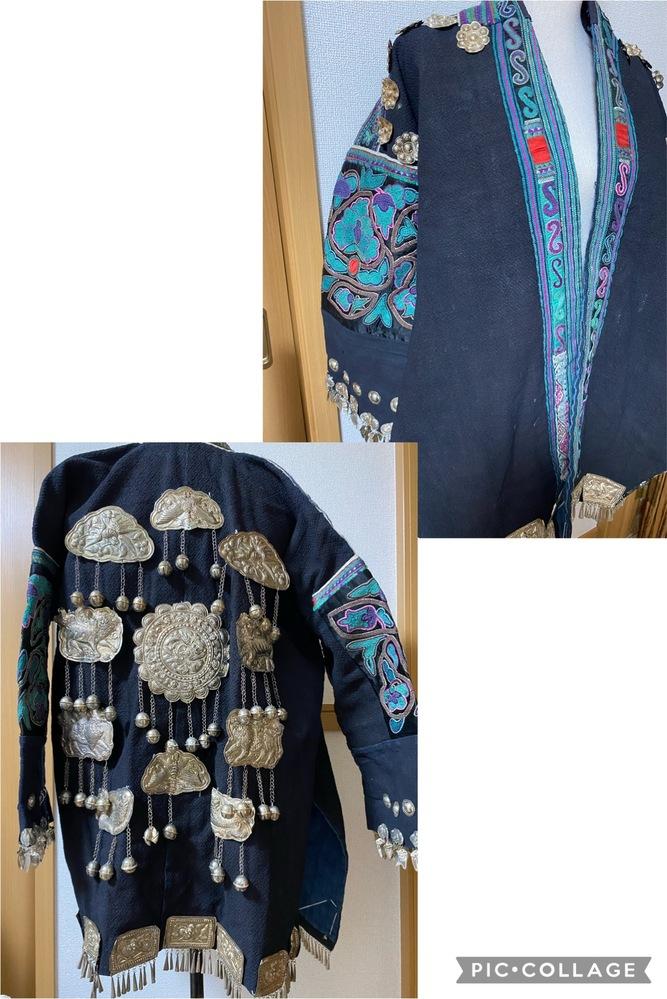 民族衣装等に詳しい方、ご教授ください。 こちらの服を知人から譲り受けたのですが、どこかの民族衣装なのでしょうか。 よろしくお願いいたします。