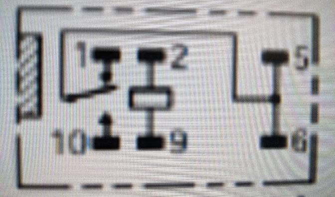 マイクロリレーの内部回路について質問です。 画像はマイクロリレーの内部回路になっているのですが、この2と9の端子の部分はどういう意味を持つのでしょうか?