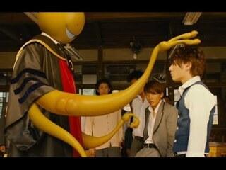 【てんぷら☆映画復活祭】Scene#368 皆さん、映画はお好きですか? このワンシーンで ひとつ 素敵なボケをいただけますか? (・▽・) 『暗殺教室』より