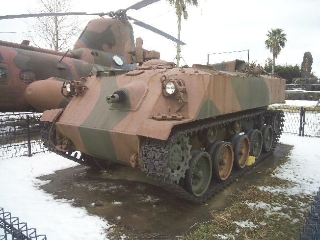 この戦車?はどこに置いてありますか? 5年前に多分自分で撮った写真なのですが全く場所を覚えていません。多分九州だった気がします。