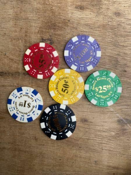 このカジノチップはラスベガスで使える本物でしょうか?お土産やゲーム用のチップですか?