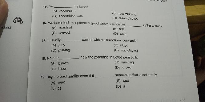 高校英語 解答を教えて下さい。