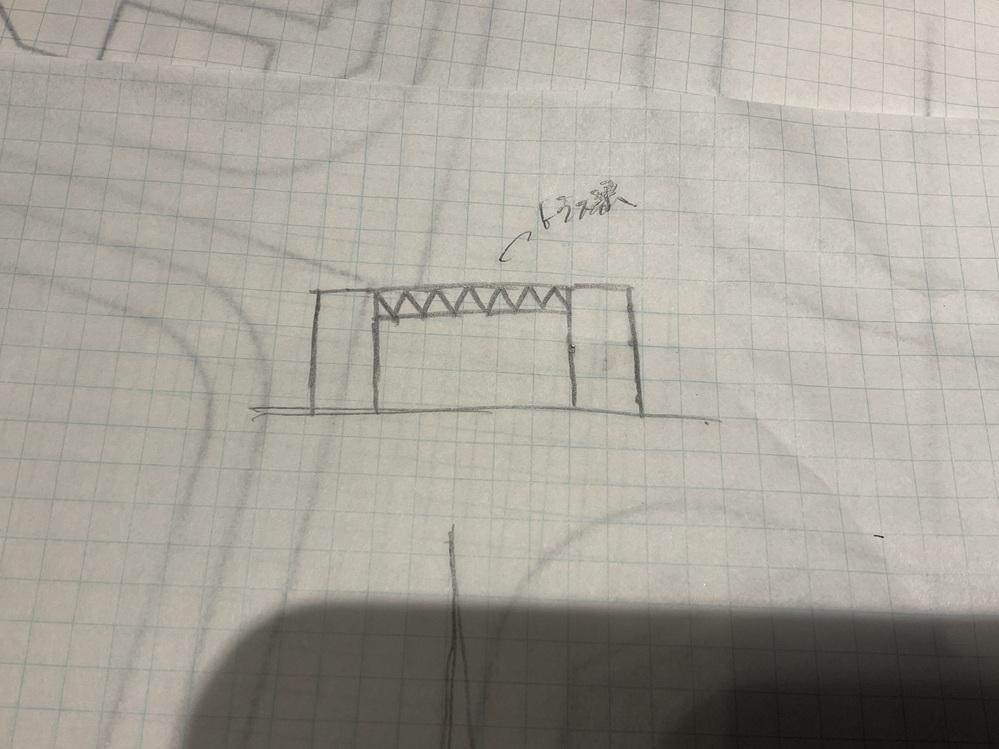 学校の設計課題で構造的にわからないのでお詳しい方教えていただきたいです。 左右は2階建の建物で間に吹き抜けの空間を作りたい時に、屋根の梁をトラス梁にして、建物にかけるというのは可能でしょうか。トラス梁を用いるときは、トラスのラーメンを作らないといけないのでしょうか。ちなみに、梁は30mほどの大規模建築です。s造で設計中です。どなたかよろしくお願いいたします。