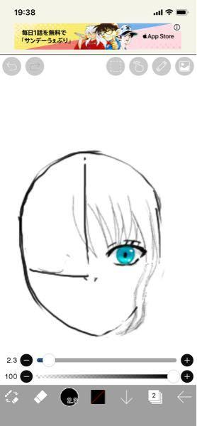 右の目を反転して左の目を作りたいのですが、アイビスペイントでは可能でしょうか?