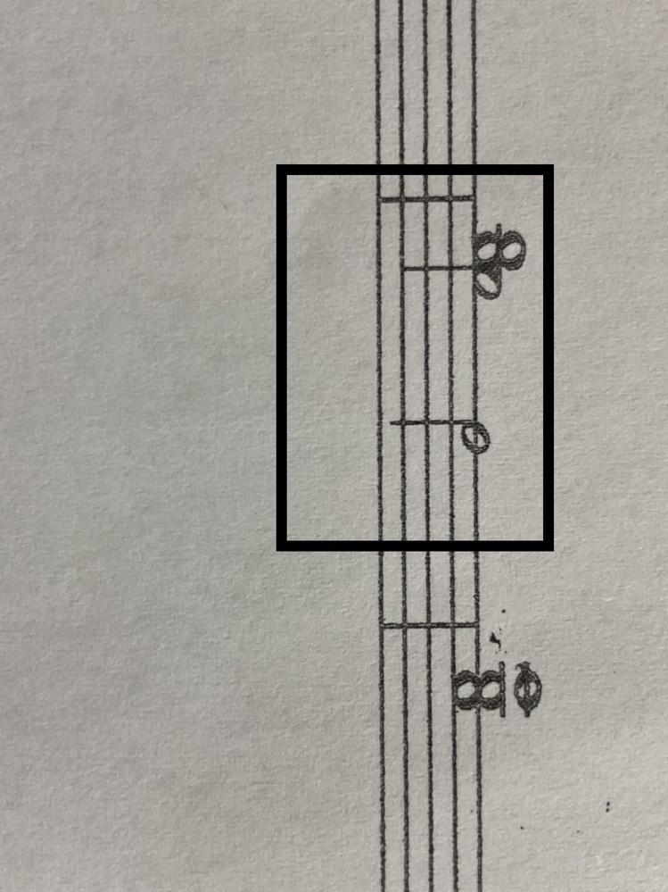 クラリネットの楽譜です。 この場合どうやって吹くのでしょうか。