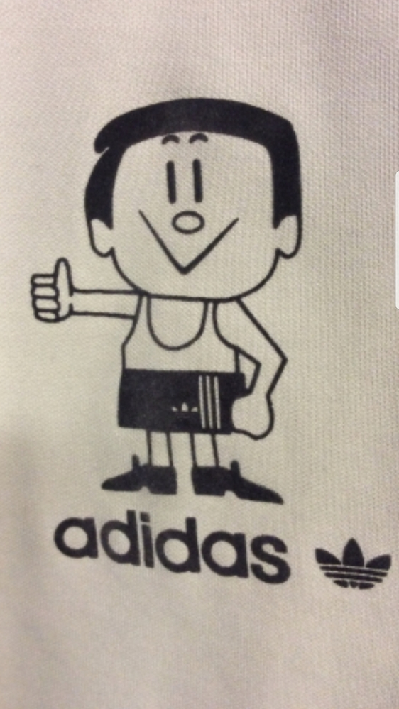 adidasコラボ キャラクターの名前が知りたいです おわかりになる方 お願いします<(_ _*)>