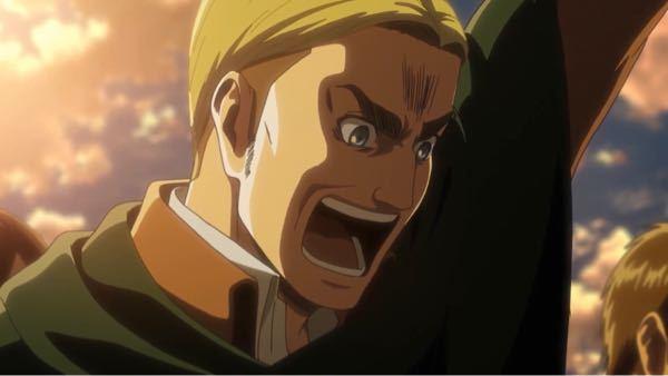 進撃の巨人のアニメ49話(season3パート2)で、エルヴィン団長が壁上で手を上げながら叫ぶシーンで流れたbgmは何という名前ですか?