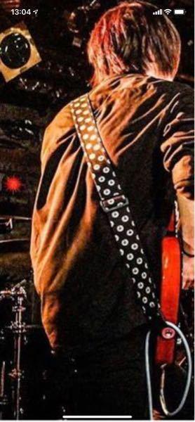 このギターストラップは何というやつでしょうか?