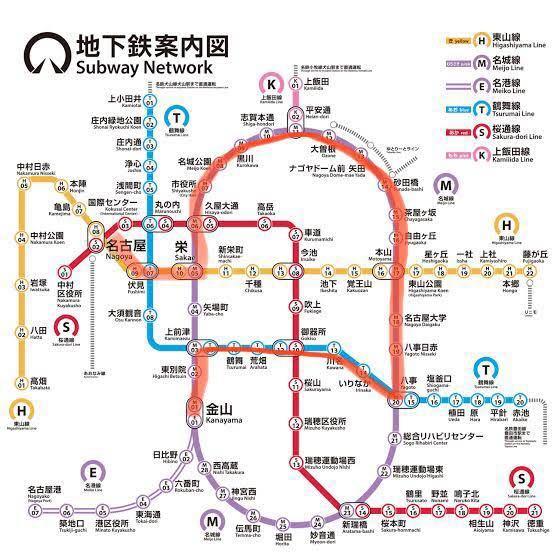 名古屋市営地下鉄についての質問なのですがこの赤い線で定期を通すことは可能でしょうか?