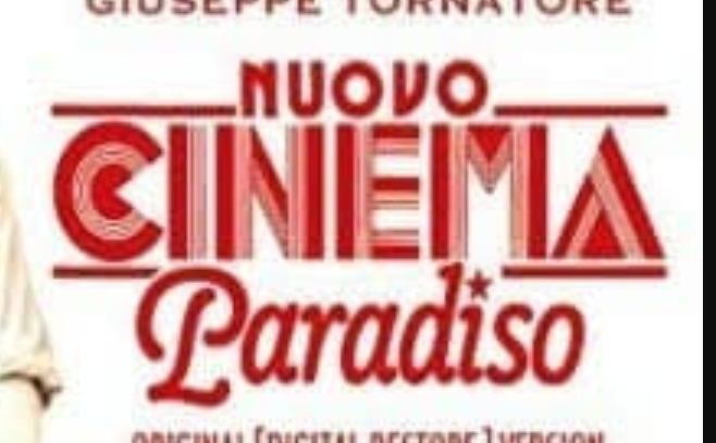 映画ニューシネマパラダイスのタイトルのフォントは何というものでしょうか? もしくはこれに近いフォントは何でしょうか? NUOVO、CINEMA、Paradisoのそれぞれ教えていただけると嬉しいです。