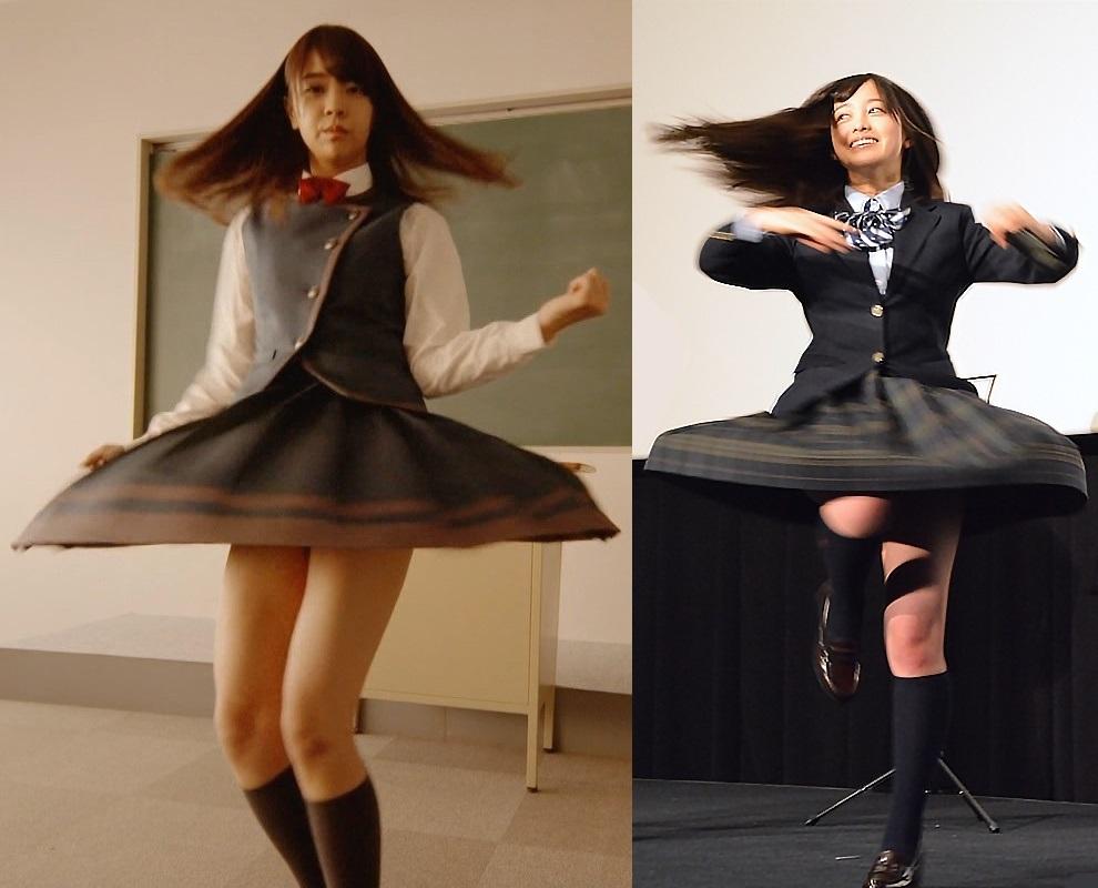 もしも、女子校舞台の学園物がバレエ化されたら、制服はこんな感じ? . もし、女子校が舞台の学園ドラマがクラシックバレエの演劇になったら 女子高生役の女子バレリーナが着る衣装(チュチュ)のスカートの部分は こんなデザインになりますか?