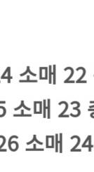 画像の韓国語の翻訳をお願いします。 服のサイズです。
