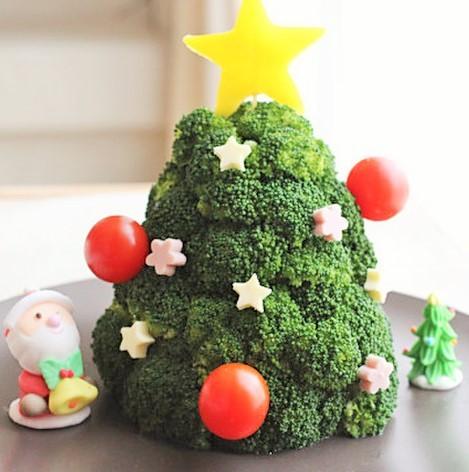 クリスマスにはブロッコリーを食べますか??