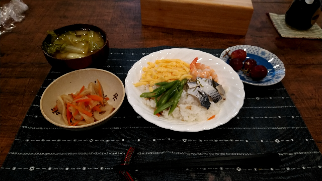 このようなちらし寿司を食べたくなりますか