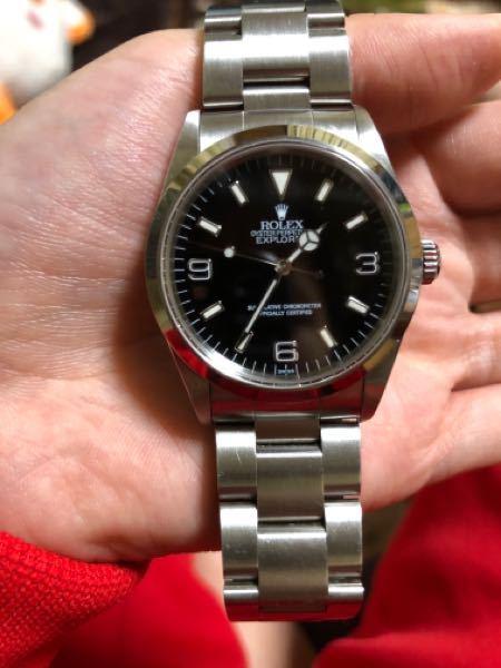 ROLEXのこの時計本物ですか?