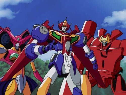 このロボットアニメの題名がわかる方いらっしゃいますか?