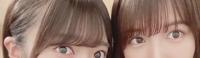 坂道パーツクイズ其の345 画像の現役または元坂道メンバーは  左右それぞれ、誰と誰でしょう?
