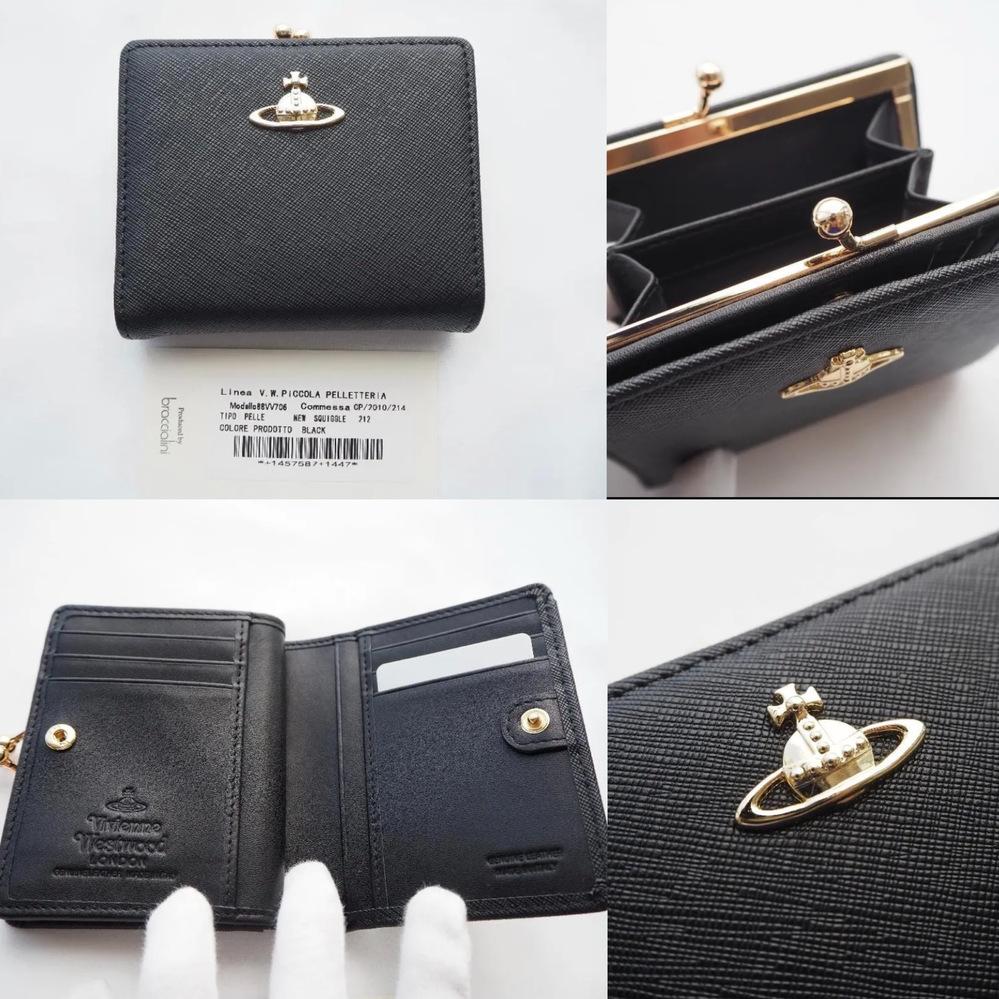 このVivienne Westwoodの財布は本物でしょうか。概要欄にはアウトレット店から購入した正規品と記載されていましたが、不安です。 ヴィヴィアンの製品に詳しい方、もし宜しければご意見下さい。