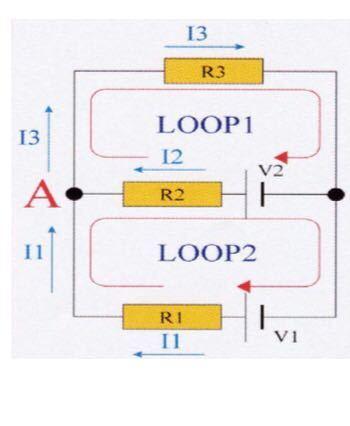 キルヒホッフの法則についてです。 既に第一法則、第二法則を用いて電流、電圧の値は求めています。 A点において、電流の連続性が成立していることが証明できることを教えてください。 そもそも電流の連続性って何ですか? わかる方よろしくお願いします。