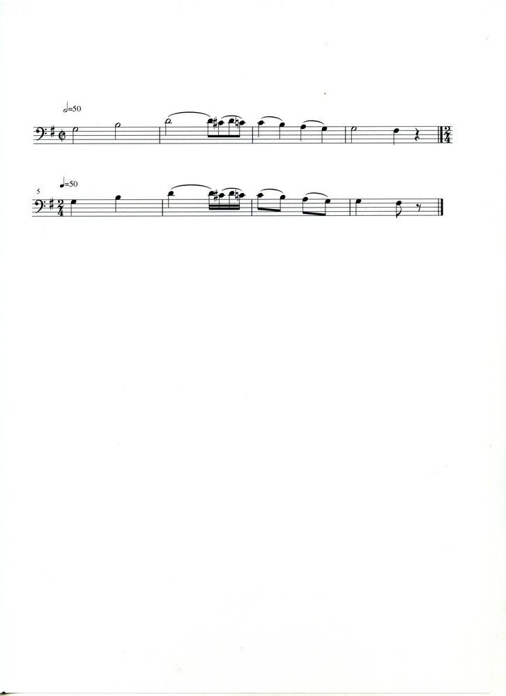2分の2拍子も4分の2拍子も同じ2拍子系だと思いますが、違いはどこにあるのでしょうか? 添付の画像の楽譜の場合、上段と下段で違いが出るでしょうか。