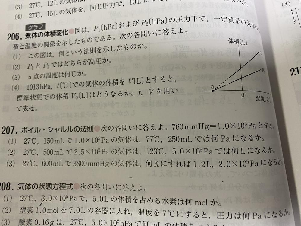 化学についての質問です 207番の(1)の答えを0.7×10^5としたら間違いになりますか?