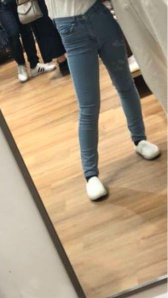 足太いですか?