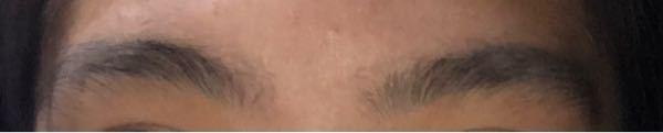 このアーチ眉?を平行眉に剃る方法教えてください ♀️ ♀️