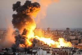 今回のイスラエルとパレスチナ衝突をドローンで撮影した映像は動画サイトで見られますか?