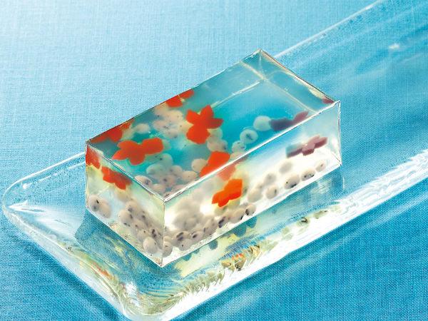 初夏には金魚の和菓子を食べますか??