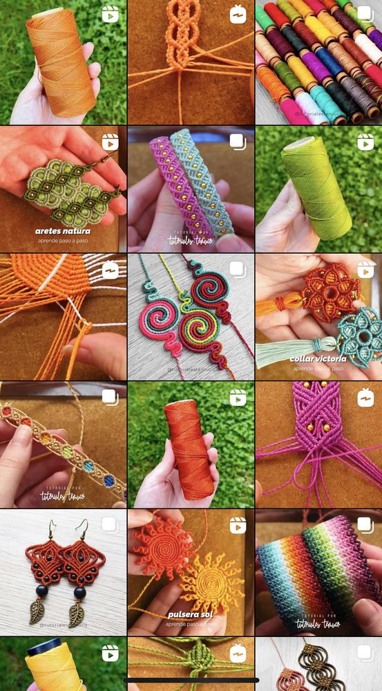 海外のハンドメイドらしいのですが、ジャンルは編み物になるのでしょうか? ミサンガに似たような部類ですか? 可愛いので作ってみたいです!