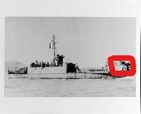 なぜこの揚陸艦(LCI603)は四角で囲んだところに艦番号のレタリングが施されてるの❓