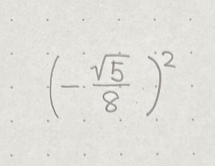 中3女子です! この写真の問題が分からないので教えて欲しいです! (問題文は、「次の数を根号を使わずに表しなさい。」です!) お願いします