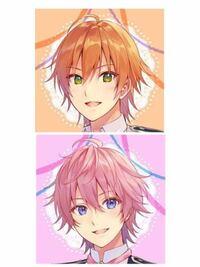この2人のイラストの髪型はなんという名前ですか? なんか日本語おかしくてすいません ボブヘアとかそういう感じで教えてください  検索用 すとぷり ジェルくん さとみくん