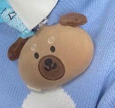 このクマって韓国のキャラクターか何かですか? また何処で入手できるか教えていただきたいです。