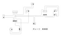 ガレージの電気配線をしたのですが、下記写真のような配線で大丈夫でしょうか? プロの意見が聞きたいです。