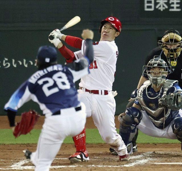 広島の夜は互いにドタバタで大変だったでしょうかね? 広島vs西武 ここは木曜日からで床田寛樹...